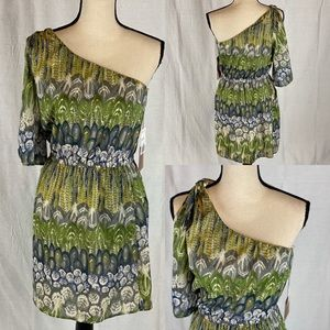 Love 21 One Shoulder Dress SZ Med. NWT